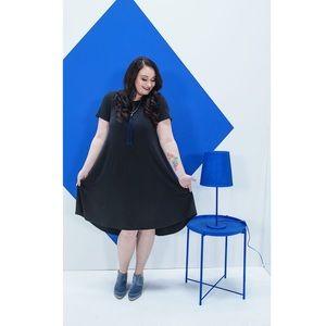 LuLaRoe Dresses - Lularoe Noir Collection Solid Black Carly Dress